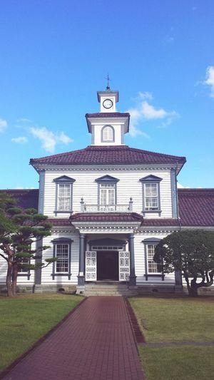 高橋兼吉 ルネサンス様式 日本 洋風建築 Japan Government Office Renaissance Architecture Clock Tower History Architecture Building Exterior Built Structure Politics Sky No People