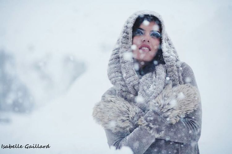 Hiver.... Outdoors Girl Woman Fantasy Winter Automn Snow cold