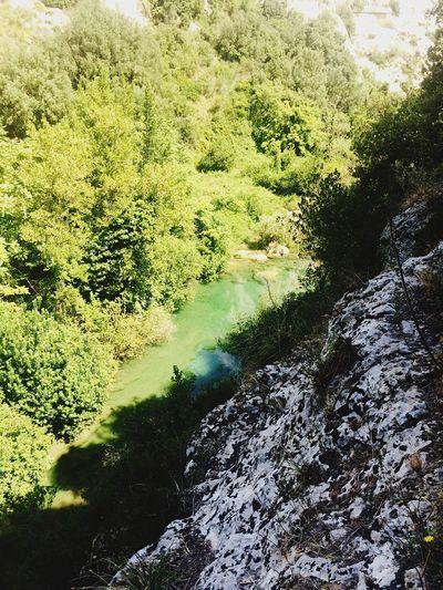 Nature Green Summer Riverside Cavagrande Relaxing