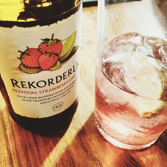That summer feeling. Cider Summer London Love Rekorderlig