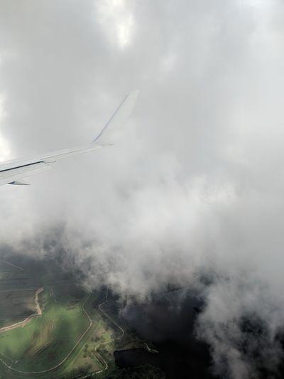 Rural Scene Fog