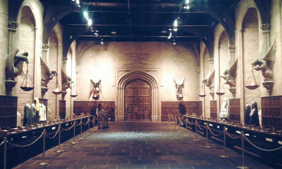 Harry Potter Great Hall Going To Hogwarts At Hogwarts