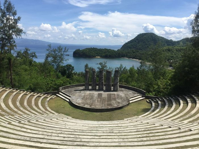 Been There. Amphitheatre of the south. Nice view. Green and blue. Water Legaspicity Philippines Trees And Sky Amphitheatre EyeEmNewHere
