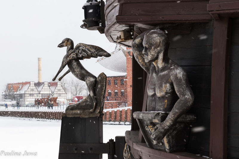 Architecture Gdansk (Danzig) Gdansk, Poland Poland Poland Is Beautiful Snow ❄ Winter Built Structure Day Gdansk_official Outdoors Staremiasto Trojmiasto EyeEmNewHere Stories From The City Stories From The City