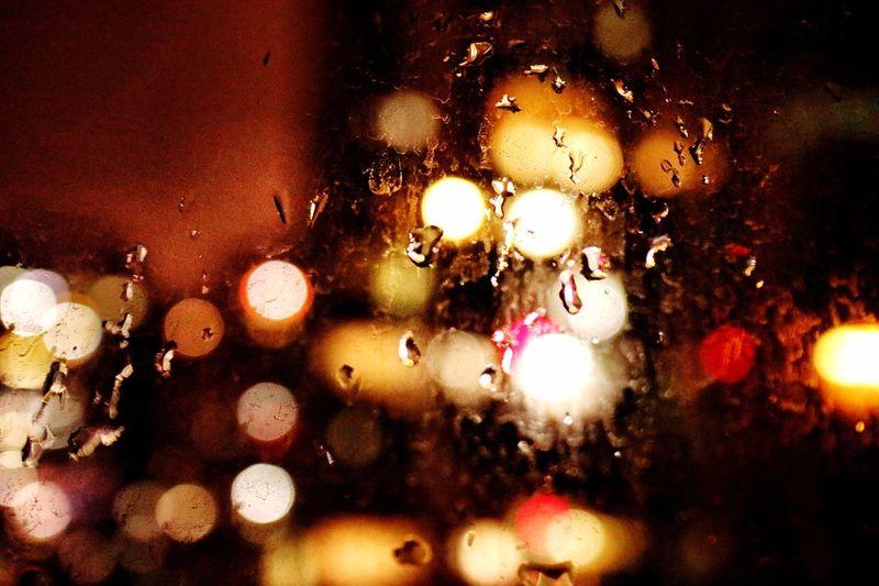 Dark and hope Light In The Darkness Chiling Hope Rainy Days Canon M5 Canon Rain Dark M5 EyeEmNewHere EyeEm Best Shots Night Window Wet Water
