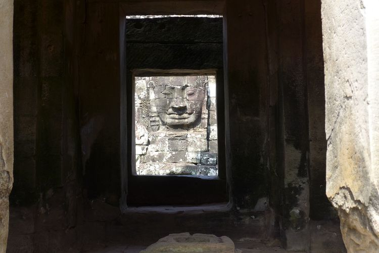 Picture the God in Siem Reap