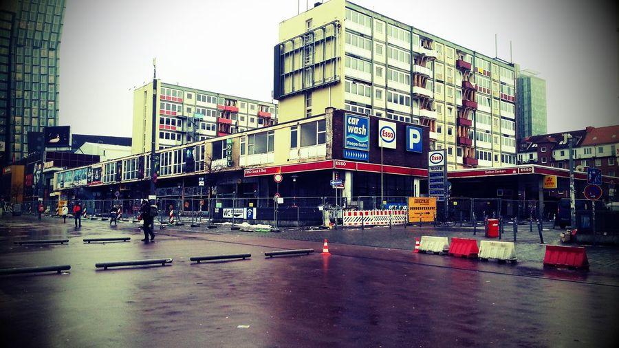 Hamburg Esso Kiez Esso-Häuser Reeperbahn  Good Bye