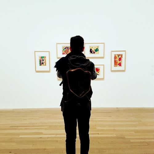 Rear View One Man Only Only Men Indoors  One Person Adults Only Standing People Hands Behind Back Men Adult Day London Lifestyle London Museum Museum Of Modern Art Tate TateModern Modern Art Modern Modernism Man Men At Work  Inside Photography Close-up Long Goodbye EyeEmNewHere The Photojournalist - 2017 EyeEm Awards The Portraitist - 2017 EyeEm Awards