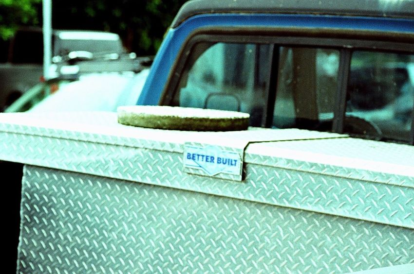 Close-up Land Vehicle No People Outdoors Truck Zenit122 Koduckgirl Lomo Xpro 100 Film