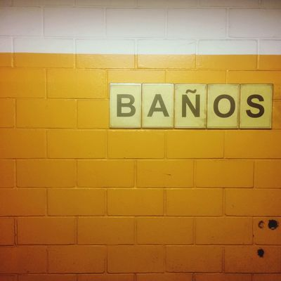 Colors Wall Colors Yellow Wall Typography Textures and Surfaces color palette Communication Text Western Script Wall - Building Feature Yellow Sign Architecture Built Structure Tile Information Flooring No People Wall Close-up Brick Wall Message Information Sign Capital Letter