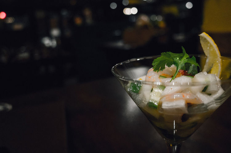 Night Food Bokeh RICHO GR Seafoods Cocktails Glass Beautiful Freshness Yummy A Taste Of Life Foodie My World Of Food Photographic Memory Urban Lifestyle Showcase: January Nightphotography Eye4photography  From My Point Of View EyeEm Best Shots Light And Shadow Deceptively Simple Minimalism Rule Of Thirds Depth Of Field