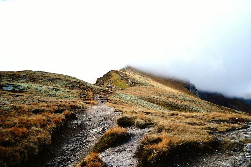 Protecting Where We Play Austria Austria Mountains Hikingadventures Kärnten Katschberg Fog Hiking Edge Of The World Kareck