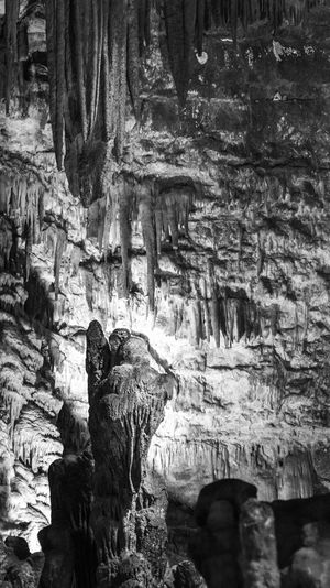 Caves of Castellana. Black and white Rock Rock - Object Rock Formation No People Solid Cave Geology Nature Underground Stalactites And Stalagmites Subterranean Mineral Speleology Light Angel Stalagmites Italy Apulia Italy Italia Puglia Caving Tourism Attraction Limestone Grotte Karst Ancestral