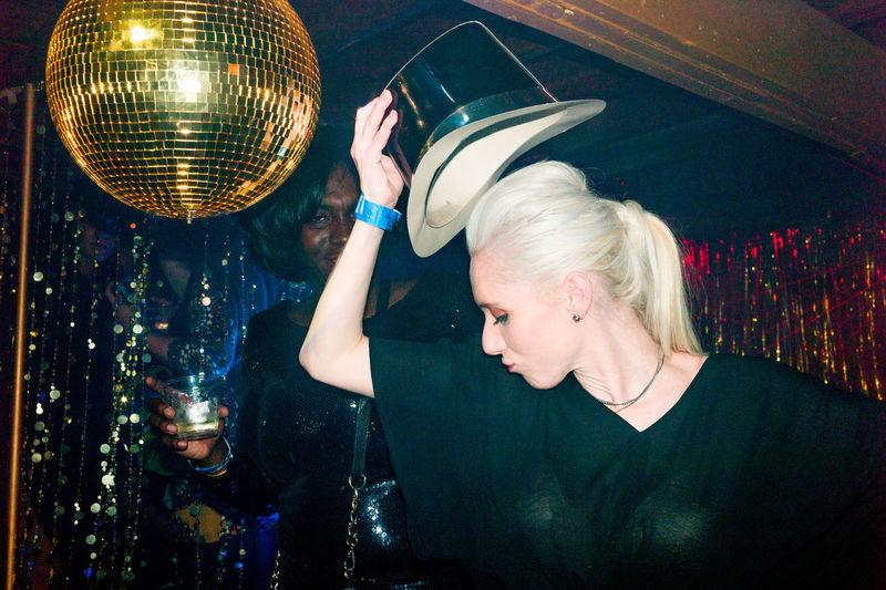 Adult Adults Only Beautiful Woman Beauty Club Disco Dancing Fun Indoors  New Years Eve Nightclub Nightlife People