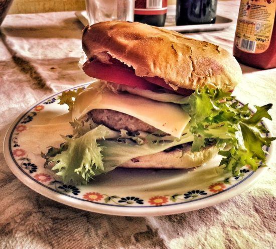 Food Foodporn Hamburger Panino