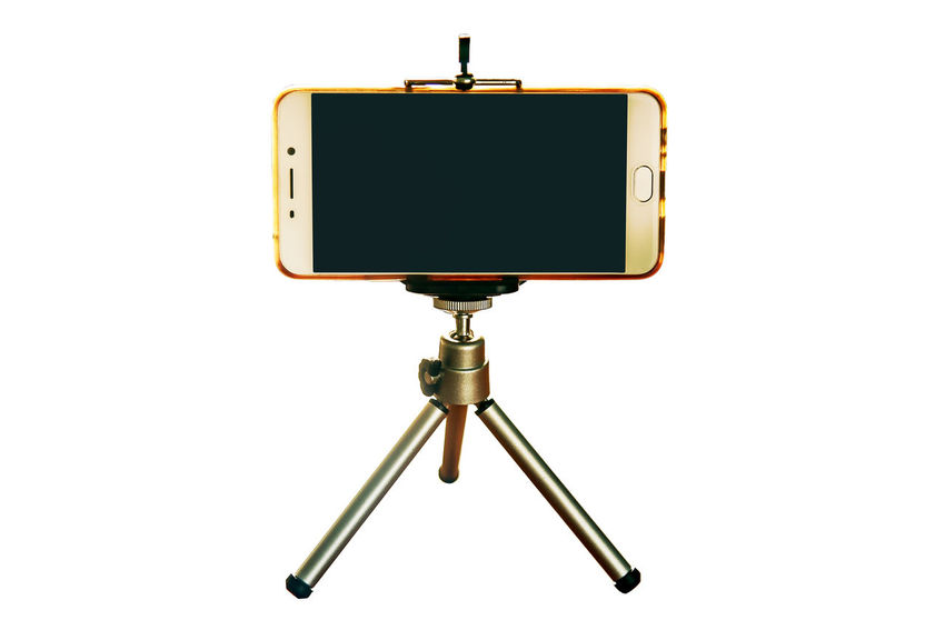 Clipping Path Close-up Day Digital Indoors  Isolated White Background Monitor No People Smart Phone Studio Shot Tripod White Background