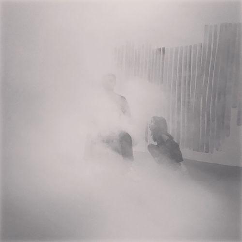 Smoke in winter
