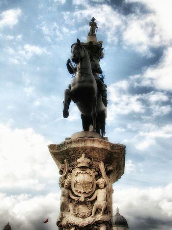 London London London London!!! LONDON❤ Nelsons Column Charles I Statue Charles I Stuart