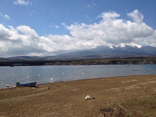 山梨 山中湖 富士山 富士五湖