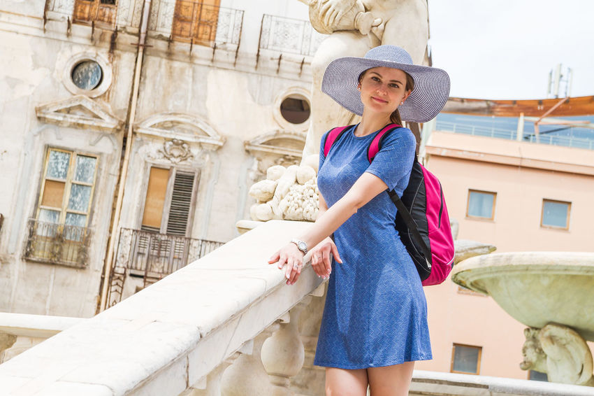 Beautiful Girl Portrait Of A Woman Top Photography Amazing Model Amazing Portrait Architecture Beautiful Portrait Beautiful Woman Best Portrait Day Hat Lifestyles Looking At Camera Marco Vittorio Marco Vittorio Photography Model One Person Outdoors Portrait Portrait Photography Real People Smiling Sun Hat Top Photos Top Portrait