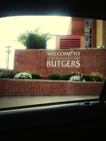 Rutgers University Rutgers Home Sweet Home New Jersey