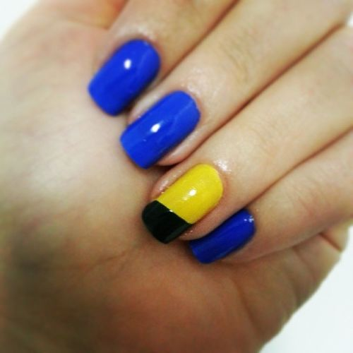 Nails of the week... Copanobrasil Amomuito Amanhãtem