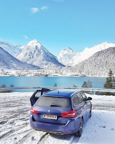Going home from Daskronthaler at @achensee_tirol after a business visit with the @Peugeot 308gt and @robertpelikan and heading straight to @zellamseekaprun in Salzburg . - - - check out my new blog post at 666note.com - - - Austrianblogger Igersaustria Visittirol Achensee Tirol  Tyrol Winterwonderland Winter Photooftheday Vscocam Happy Granturismo Visitsalzburg Kaprun Austria Austrija Igersrussia LivingLife Globetrotter Galaxys6edgeplus Peugeot Peugeot308 feelfree