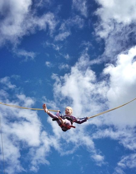 Sky Trampoline Having Fun Holiday IPSSkies IPSMinimal