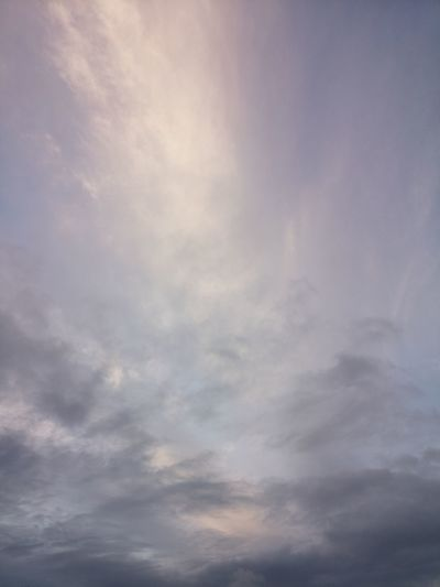 Sky above Calm