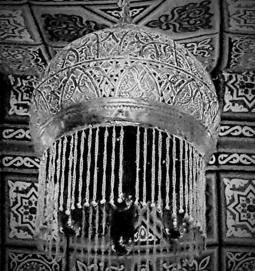 Egyptian traditional chandeliers Pattern Full Frame Indoors  Close-up No People Built Structure Backgrounds