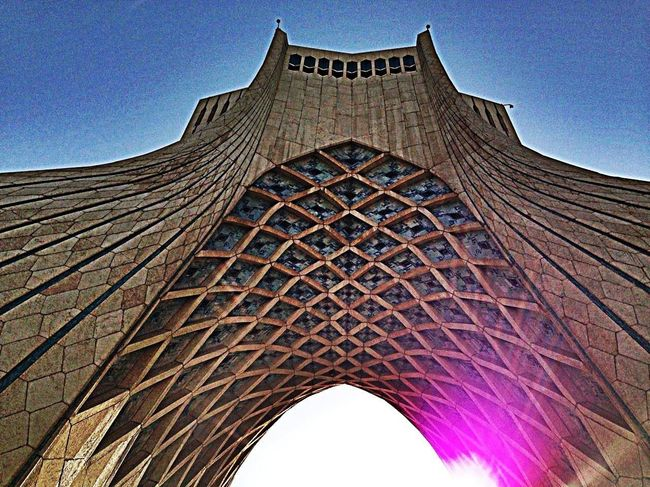 Azadi Tower In Tehran Check This Out photo by Myself