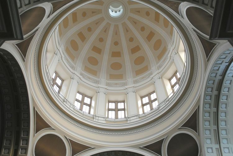Built Structure Cupola Architecture Low Angle View No People Places And Spaces Places Around The World Angles And Views Architecturephotography Architecture_collection Catedral Catedrales Architectural Detail Architecture Architecture Photography Indoors  Low Angle View Architecturelovers OpenEdit Architectureporn Places Architectural Feature Indoors  Dome Indoors
