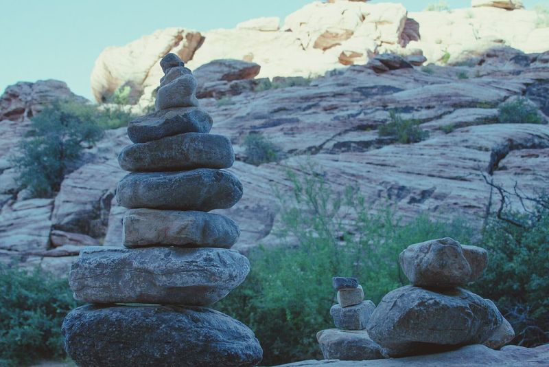 Rock art. Stack Rock - Object Stone - Object Nature Outdoors Beauty In Nature Day Outside World Art In Everything Art In Nature Outdoor Photography Desert Adventure Natural Art  Stone Art Rock Pile Rock Arrangements Rock Art Get Out And Explore Desert Art No People