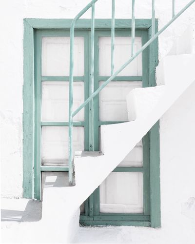 White Color Architecture Steps And Staircases Steps Staircase White Built Structure Railing Whitewashed No People Day Building Exterior Outdoors Close-up EyeEmNewHere The Week On EyeEm