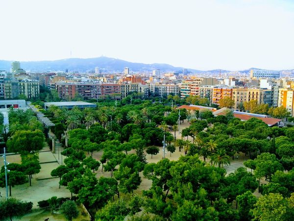 Building Exterior Architecture Residential Building Built Structure House Day Outdoors Cityscape City No People Clear Sky Tree Sky Nature Apartment Parc Guell Parc Been There.