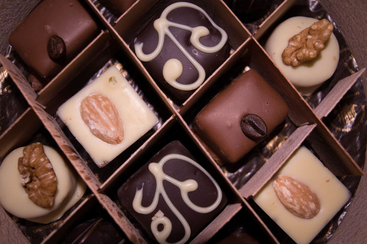 Chocolate Candy Chocolate Sweets Chocolates With Nuts Food Handmade Sweets Romantic Gift Sweets