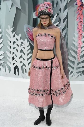 Couture Spring2015 Chanel DonneVincenti Pink Repost