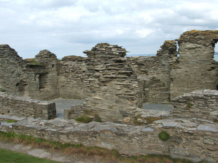 #tintagel Castle #king Arthur #cornwall Ancient Ancient Civilization Archaeology Architecture Built Structure Cloud - Sky Day History Nature No People Old Ruin Outdoors Sky Tourism Travel Travel Destinations