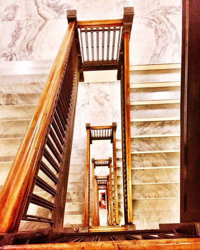 Stairwell Staircase Market Photography Canada Piday Oldstairs Alberta Fairmont Stairwell Stairs Architecture Built Structure Steps Day Indoors  No People