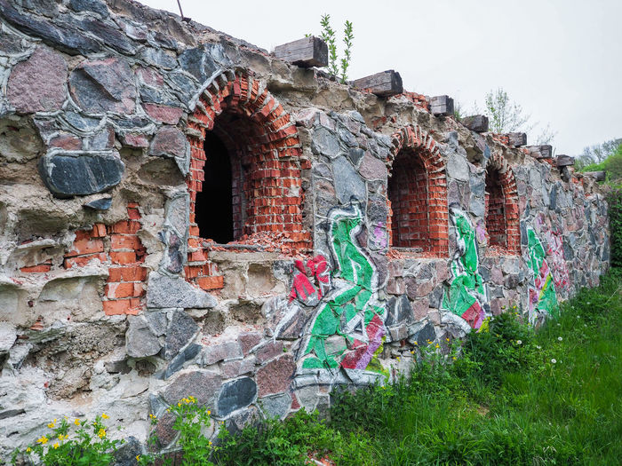Manor ruins EyeEmNewHere Lithuania Manor Ruins Old Ruins Ruins Architecture Building Exterior Built Structure Day History Jonava Masonry Ruins No People Old Buildings Outdoors Red Brick Red Brick Building Ruined Building