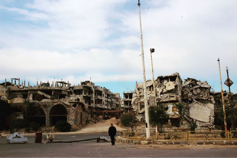 Enjoy The New Normal War Warzone Syria  Homs