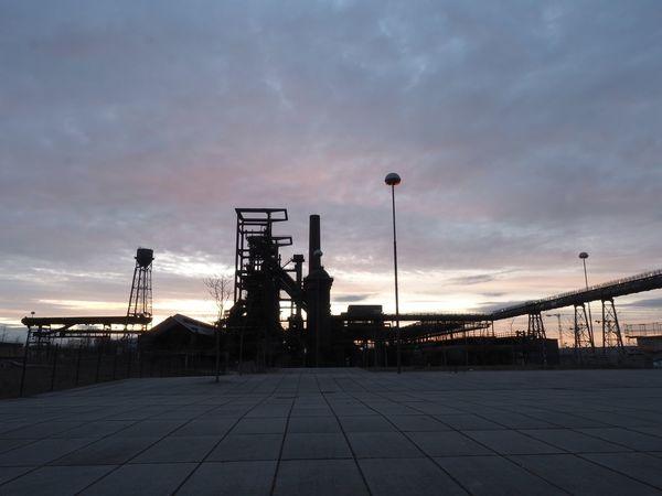 Himmel Industrial Building  Industriekultur Industrieromantik Licht Und Schatten Light And Shadow Lost Places Nachtaufnahme Nachthimmel Night Lights Night Photography Sky