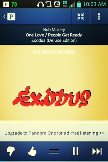 Yeah I'm Straight Chillin, Jamming Bob Marley ^-^