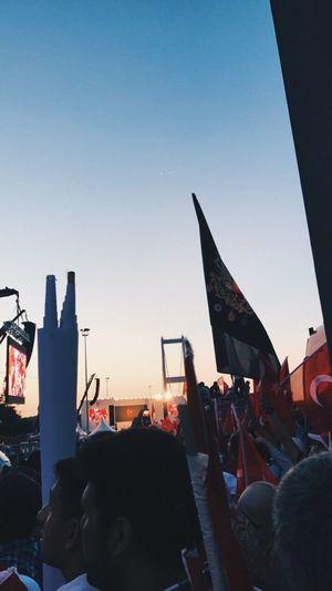 Miting 15temmuzşehitlerköprüsü Real People 15temmuz Turkey Bayrak Türkiye Istanbul Türkbayrağı People Sea Kopru Deniz