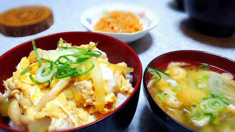 親子丼 Japanese Food ぼちぼちの出来でした。