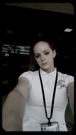 in the morning at school being tired as fuck and about to fight a girl