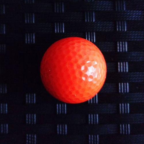 Close-up of orange ball