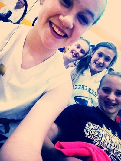 Basketball game (: