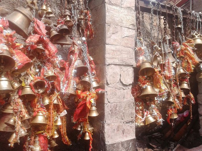 FEELING HOLY Kamakhya Bells Taking Photos Temple