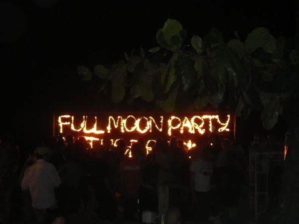 Communication Full Moon Party Illuminated Night Outdoors Real People Text